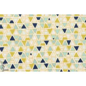 tissu poprline coton Altitude - Géométrique 1210 Collection Altitude par Pippa pour Dashwood