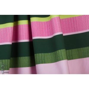Jersey Ringel Vert-rose Lillestoff