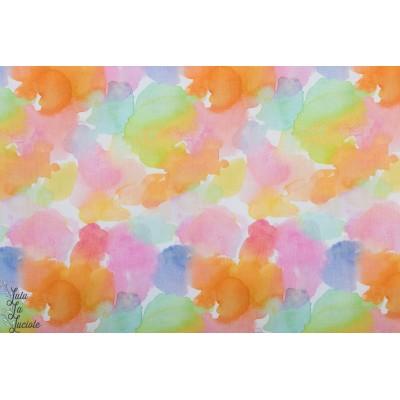 Popeline Dear Stella Multi  nuages - ephemeral couleur