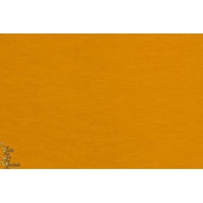 jersey bio new Senf Lilelstoff moutarde jaune ocre