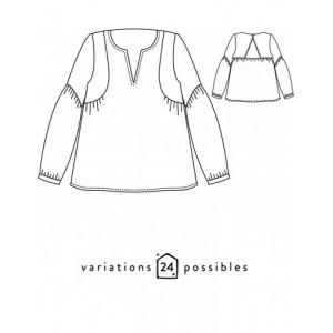Patron Petites Choses Atelier Scammit blouse femme mode
