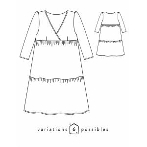 Patron Eugénie Atelier Scammit robe blouse mode femme couture