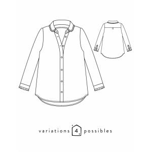 Patron Liseron Atelier Scammit blouse chemise mode couture femme