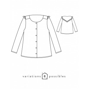 Patron Vertige Atelier Scammit blouyse couture mode femme