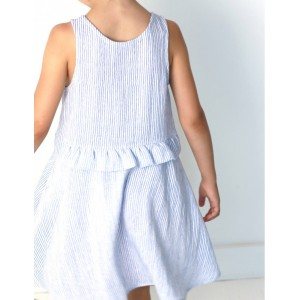 Patron Petite Lune Atelier Scammit robe fille enfant tourne