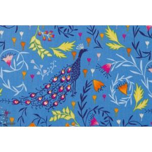 Paon sur fond bleu - DIDR1196