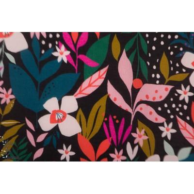 rayon Dashwood Studio Soirée 1504  Secret Garden fleur susan drisol