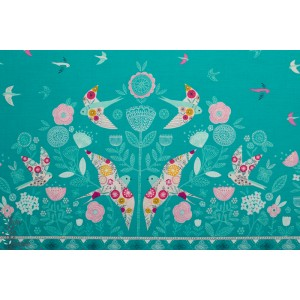 Popeline Dashwood Studio Double bordure Summer Dance 1512 fbethan janine