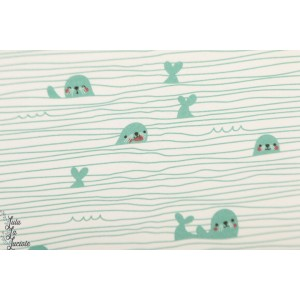 Jersey bio Stripy Seals Lillestoff par Bora