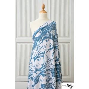 Modal Lillestoff Grobe Frauen Blue SUSAlabim
