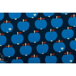 Jersey Apfle Bleu ByGraziela pomme apple retro vintage graphique