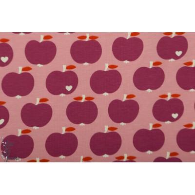 jersey Apfel Lilas ByGrazielapomme apple vintage retro