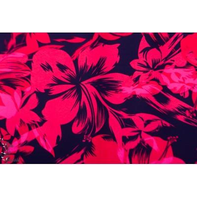 Swim and Sport fleurs des iles - Maillot de bain rose fluo mode femme mer été