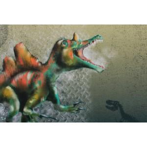 Panneau Jersey Bio Dino 1 Lillestoff