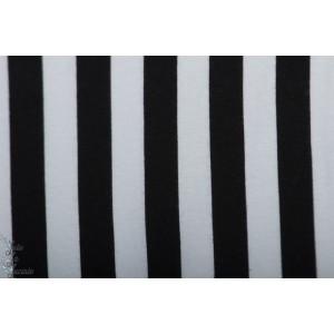 Bord Cote Bio Vertical B&W Elvelyckan design noir et blanc rayure