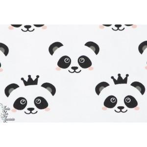 Jersey bio  Stenzo Panda sur  fond Blanc couture enfant