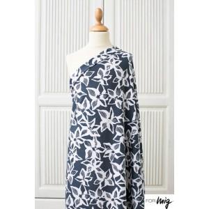 Modal Raffaela Lillestoff- fleur mode femme enemenemeins bleu