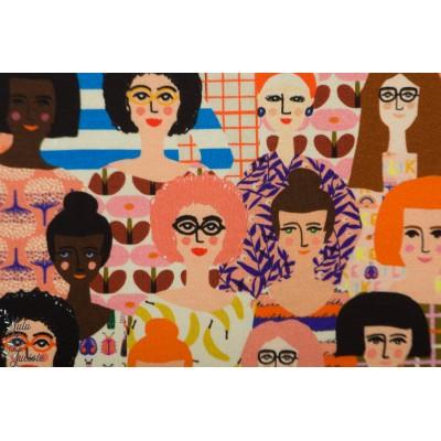 Jersey Summergirls Bonnie buttermilk femme visage mode monde