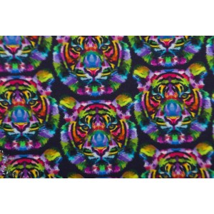 Jersey Stenzo kombi Tigres colorés graphique