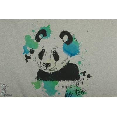 panneau jersey protect me Too Lillestoff panda nature tante gisi