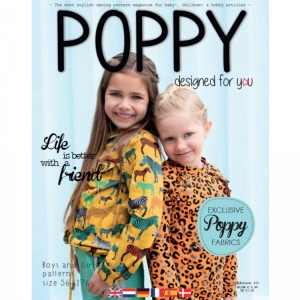 Magazine Poppy Edition 13 couture mode enfant patron