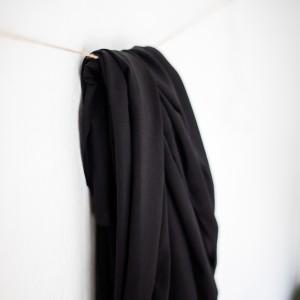 Tencel jersey Meet Milk black strech noir femme mode qualité