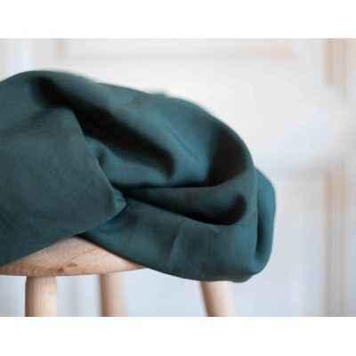 Tencel/linen Slub meet Milk Basil vert lin mode femme qualité