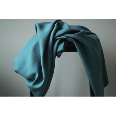 meet milk : Tencel Sanded twill Emerald bleu vert uni mode femme qualité