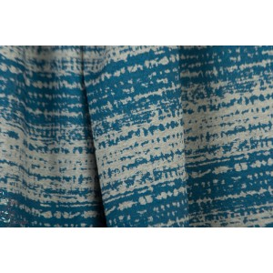 Jersey Bio Rayé Blockstreifen, blau SUSAlabim Lillestoff