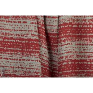 Jersey rayé Bio Blockstreifen rouge SUSAlabim Lillestoff