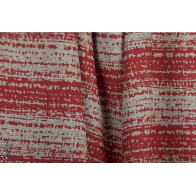 Jersey rayé Bio Blockstreifen rouge susalabim rouge rayure lillestoff