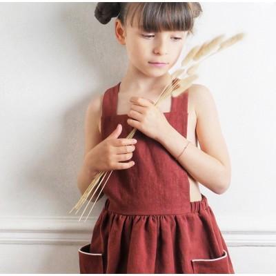 Patron couture Robe Milano IKATEE 3-12 ans robe tablier enfant fille