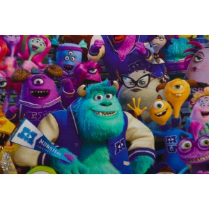 Jersey Licence Disney Monsters compagnie dessin annimé enfant monstre