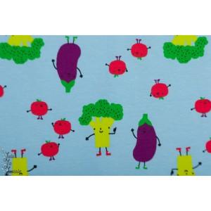 Jersey La ballade du brocoli graphique légume layette enfant