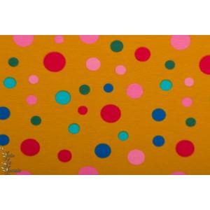 jersey Stenzo Moutarde pois colorés