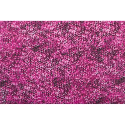 Modal sweat Gestrickt Lillestoff graphique laine knit maille rose