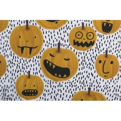 Jersey bio Pumpkin Lillestoff halloween citrouille potiron rigolo