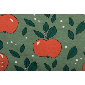 Jersey Bio Apples green Elvelyckan pomme retro vintage