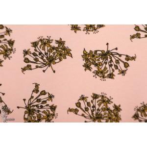 Sweat french terry Wild Garlic syas fleur oignon ail graphique soft cactus