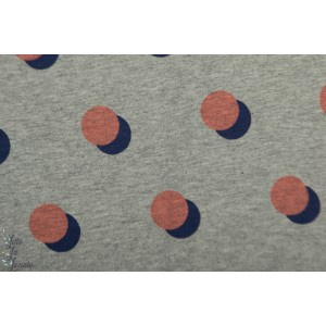 Sweat hamburger Liebe Dots Rose