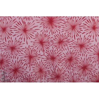 Modal Eispusteblumen lillestoff rose fleur de pissenlit graphique