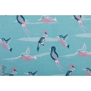 Jersey Interlock oiseaux