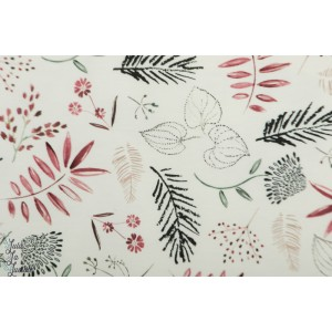 Jersey family fabrics Floral feuillage nature herbe nature