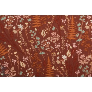 Viscose Ferns & Flowers See You at Six