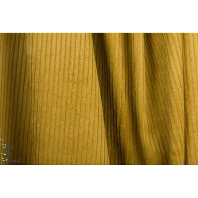 Velours grosse cote Fibre Mood legend Coat ocre