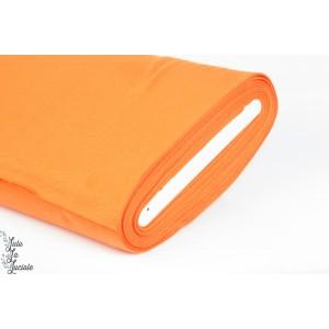 Tissu Bord-Côtes orange