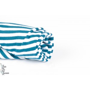 BORD COTE bio rayé Blanc/Bleu