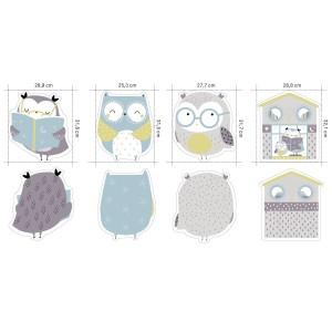 Panneau jersey Katia Owl Panel