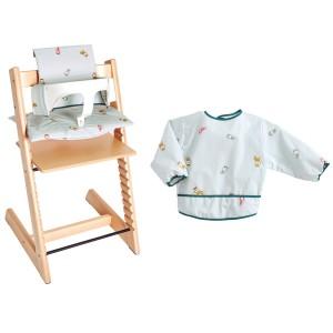 Patron Katia BA16 - Housse chaise haute + bavoir blouse