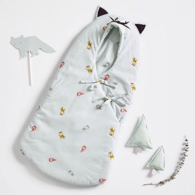Patron Katia BA9 - Nid d'ange meow gigoteuse bébé layerre couture